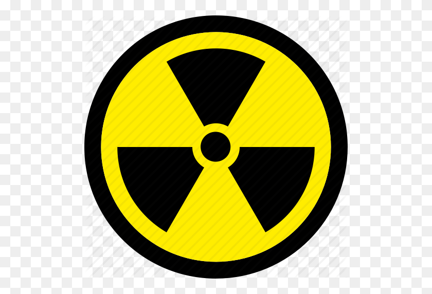 Transparent Radiation Symbol