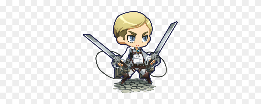 Attack On Titan Wiki On Twitter Levi And Erwin Character - Attack On