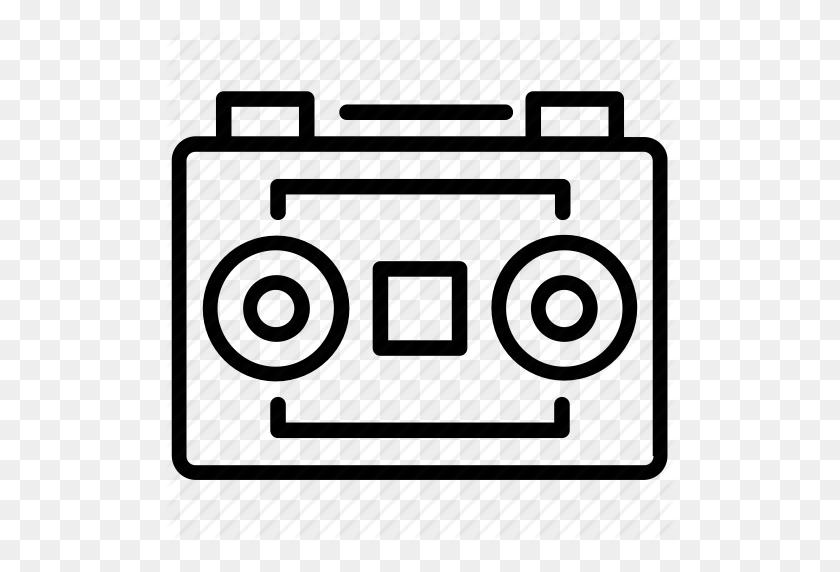 Audio Recording, Audio Tape, Digital Audio, Digital Recording - Tape Recorder Clipart