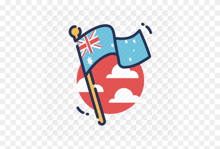 Aus, Aussie, Australia, Australia Day, Australian, Country, Flag Icon - Australian Flag Clip Art