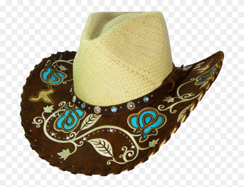 Austin Handmade Hats Beautiful Straw Hat - Straw Hat PNG