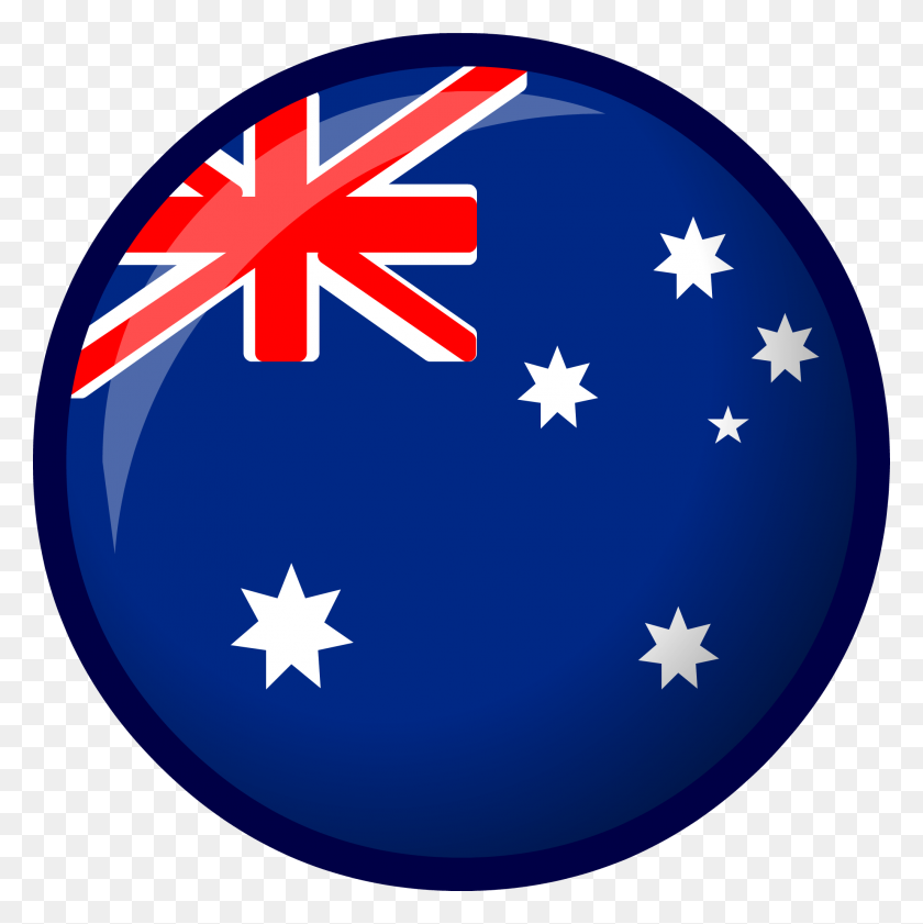 Australia Flag Club Penguin Wiki Fandom Powered - Australian Flag Clip Art