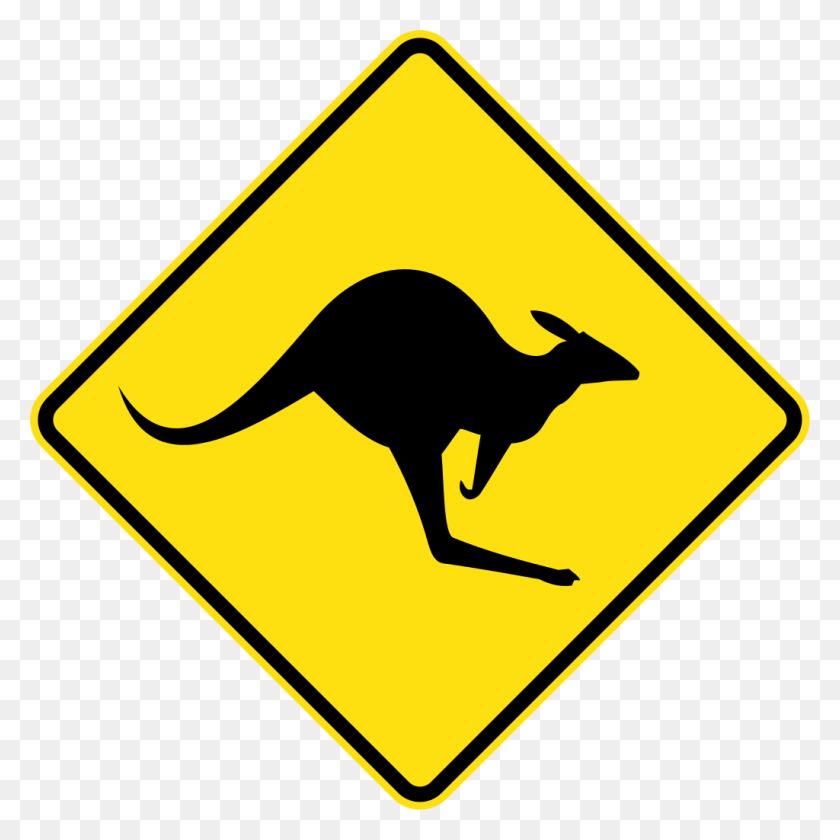 1024x1024 Australia Road Sign - Road Clipart Transparent