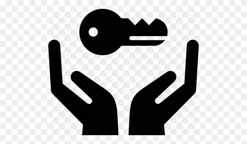 Auto, Car, Hands, Holding, Key, Rent, Rental Car Icon - Car Key PNG