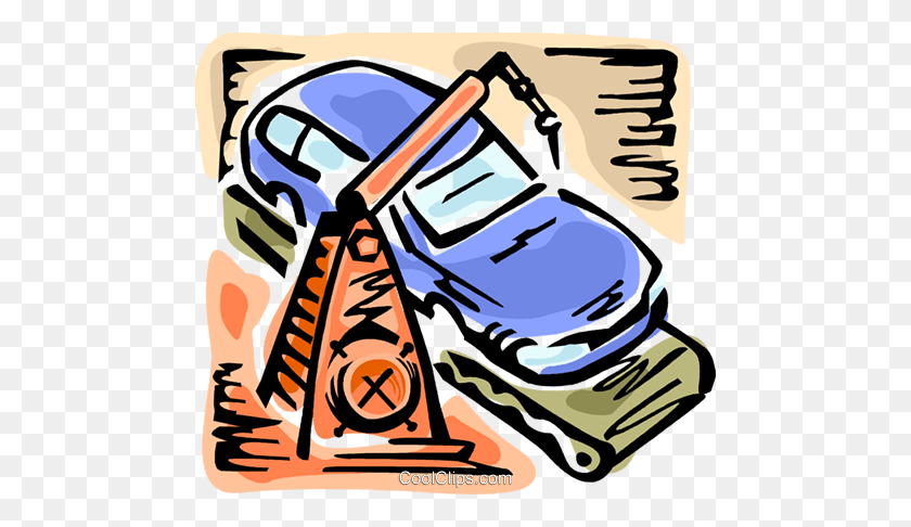 Automobile Design And Manufacturing Royalty Free Vector Clip Art - Manufacturing Clipart