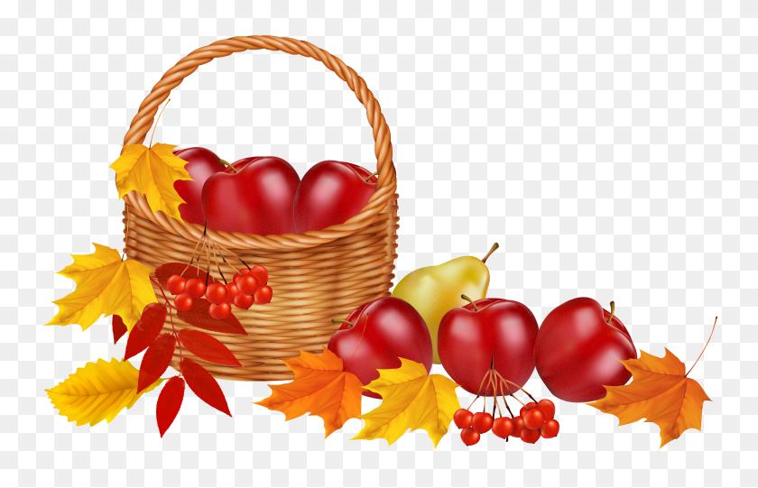 Autumn Clip Art - Thanksgiving Banner Clipart