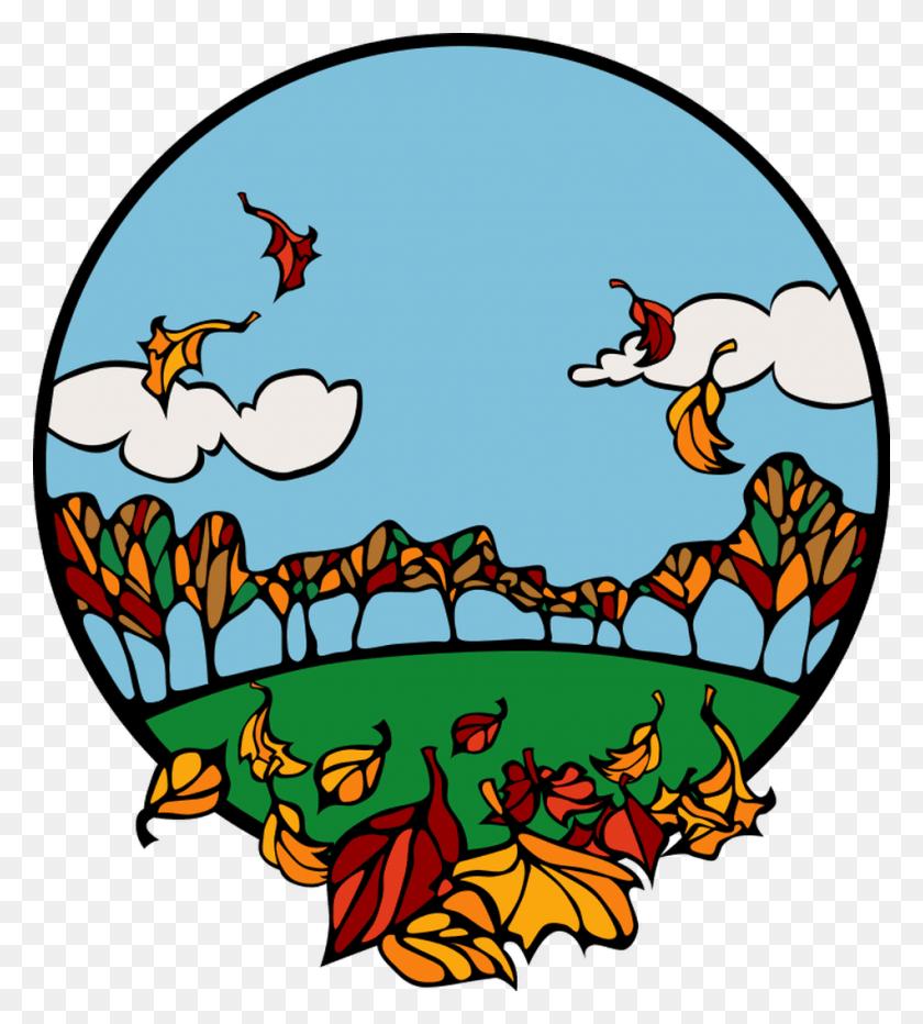 Autumn Clipart Woodland - Woodland Background Clipart