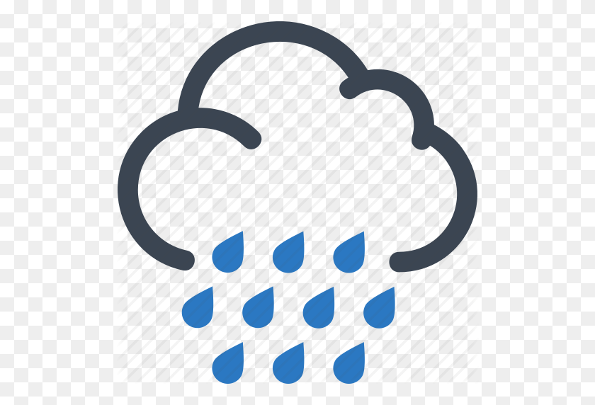 Autumn, Cloud, Rain, Rainy Day Icon - Rain Cloud PNG