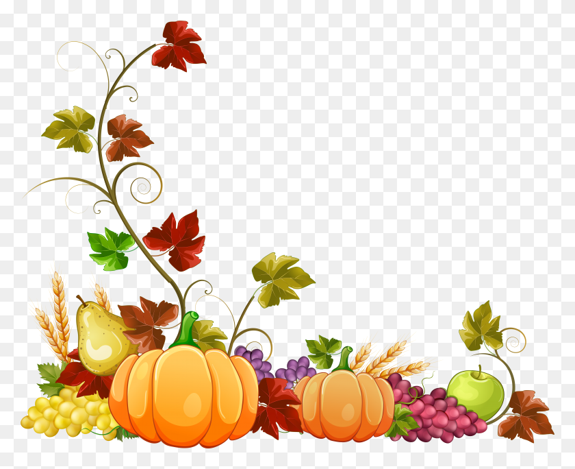 Autumn Fall Leaves Border Clipart Free Clipart Images Thanksgiving Border Clipart Stunning Free Transparent Png Clipart Images Free Download
