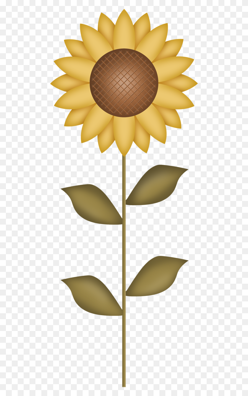 Autumn Harvest F Autumn, Fall Harvest - Sunflower Clipart