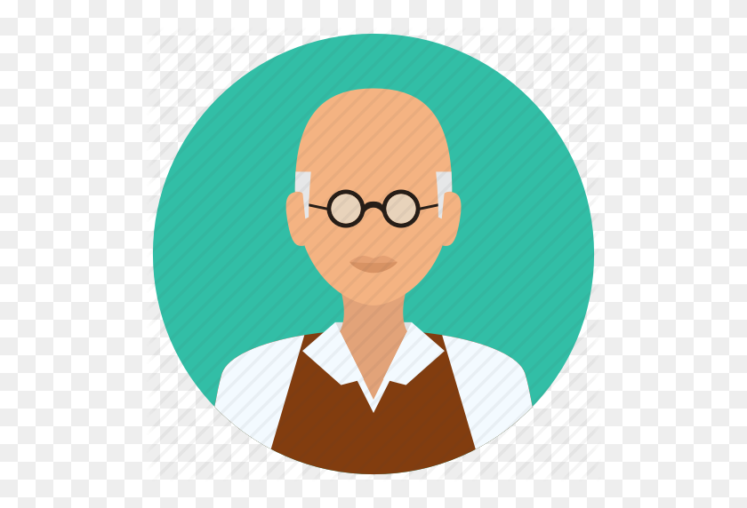Avatar, Education, Male, Man, Medical, Old, Science Icon - Old People PNG