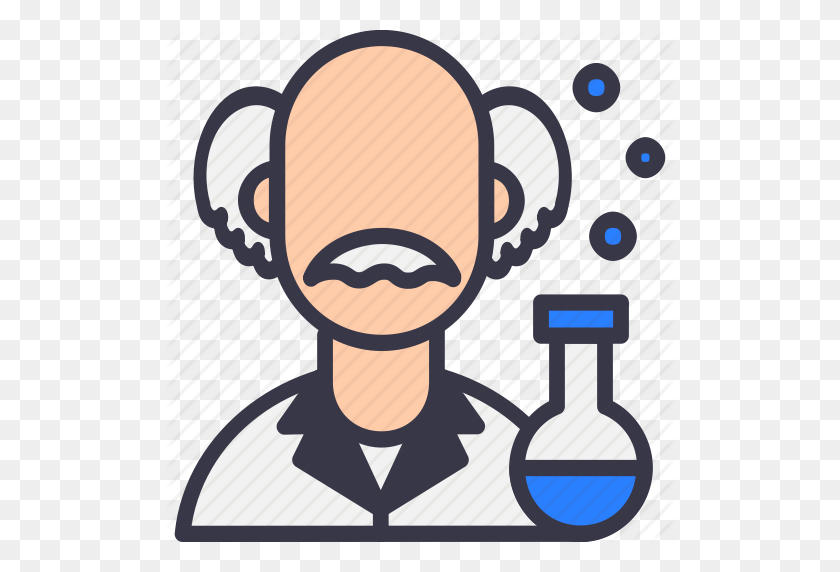 Avatar, Einstein, Knowledge, Mad, Science, Scientific, Scientist Icon - Mad Scientist Clipart