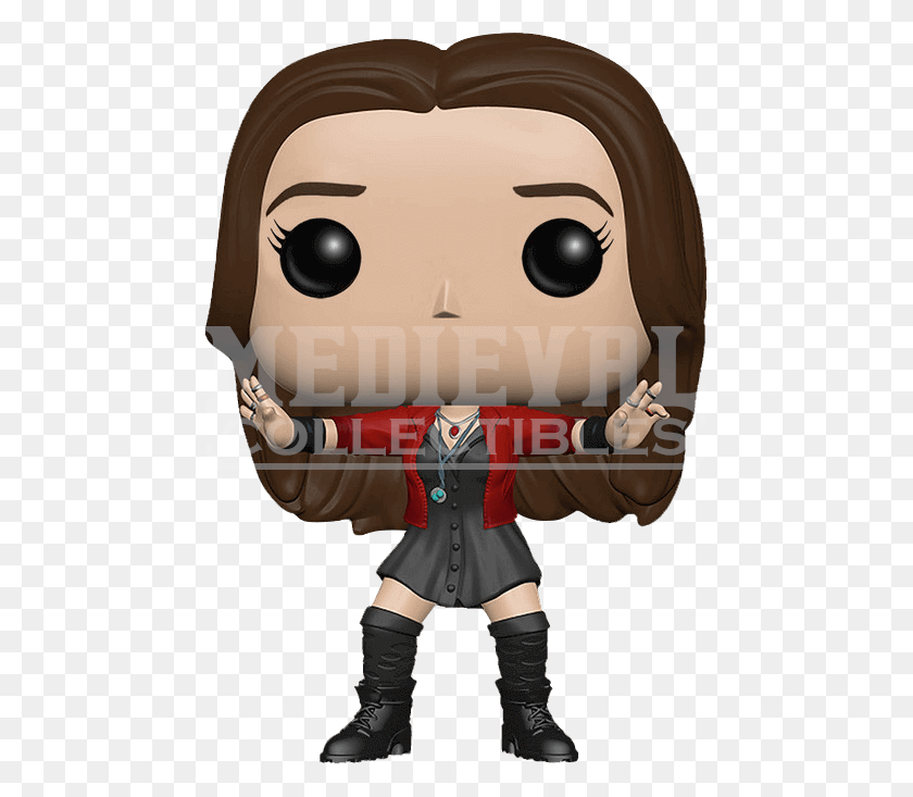 673x673 Avengers Scarlet Witch Pop Figure - Scarlet Witch PNG