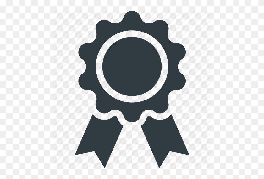 Award Badge, Badge, Badge With Ribbon, Emblem, Seal Icon