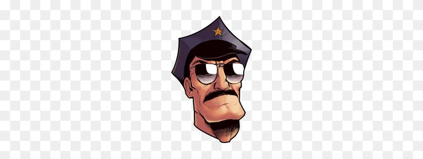 Axe Cop Head Icon Axe Cop Iconset Michael Beach - Cop PNG