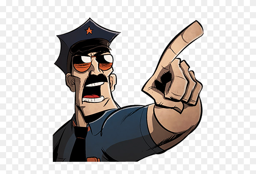 Axe Cop Point Icon Free Download As Png And Formats - Cop PNG