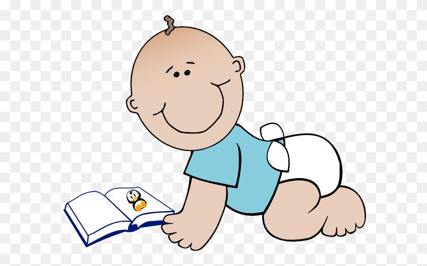 Babies And Book Clip Art Baby Read Clip Art - Read Aloud Clipart
