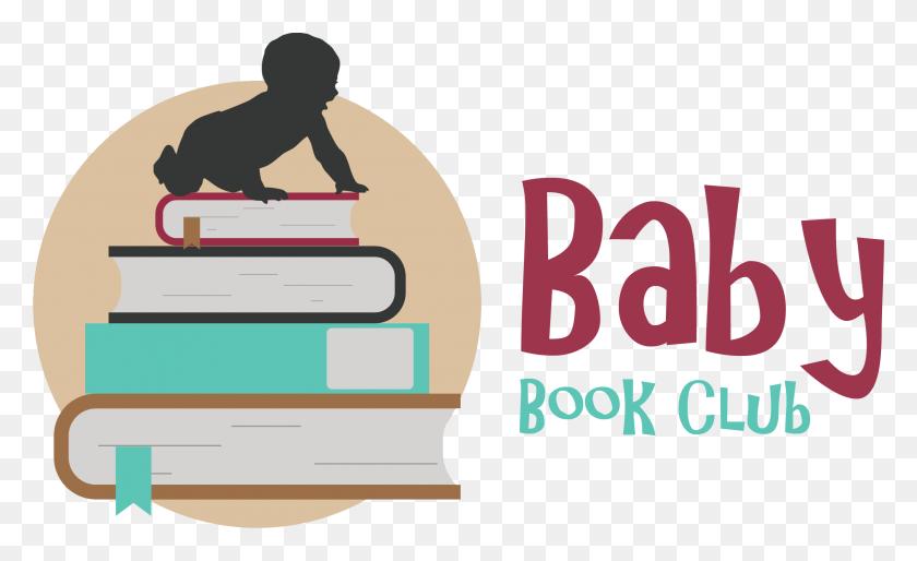 Baby Book Club - Book Club Clip Art