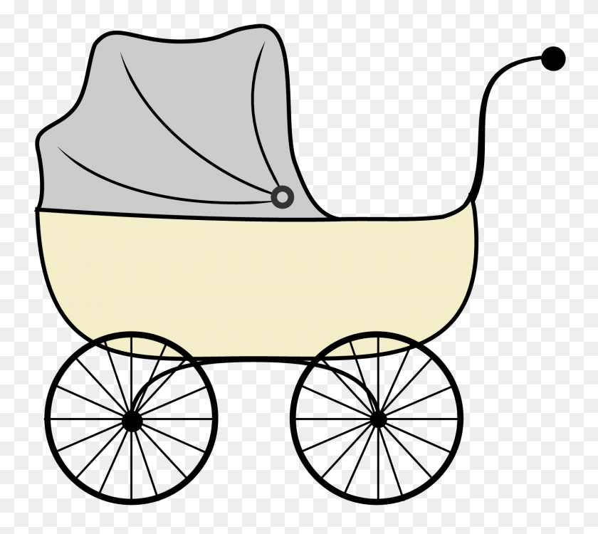 Baby Carriage Clipart Image Group - Pink Baby Clipart