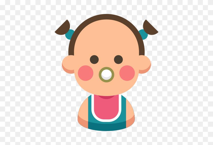Baby, Cartoon, Cute, Daughter, Family, Kid Icon - Cartoon Baby PNG