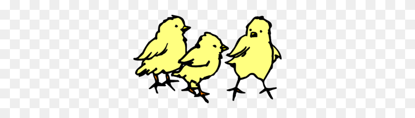 300x180 Baby Chicks Clip Art - Baby Chick Clipart