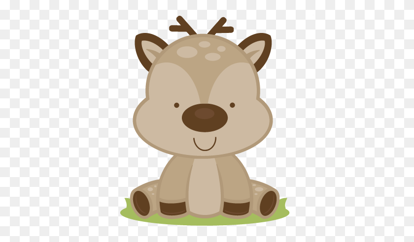 432x432 Baby Deer Cutting Deer Baby Deer - Woodland Bear Clipart