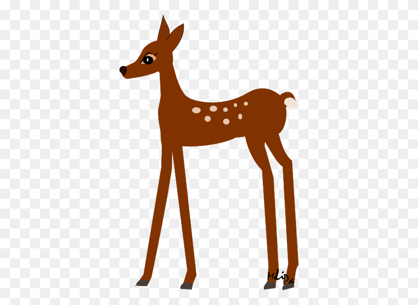 Baby Deer Deer Clip Art John Deere Baby Funny - Free Woodland Animal Clipart