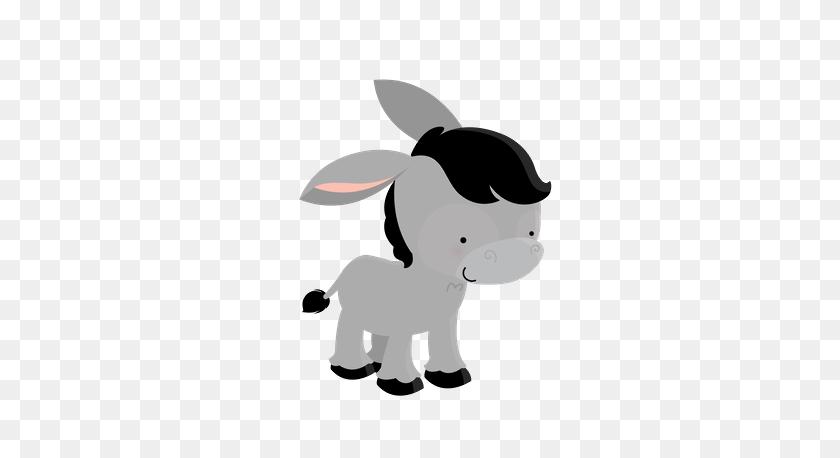 Baby Donkey Clip Art Animals Granja, Animales - Mule Clipart
