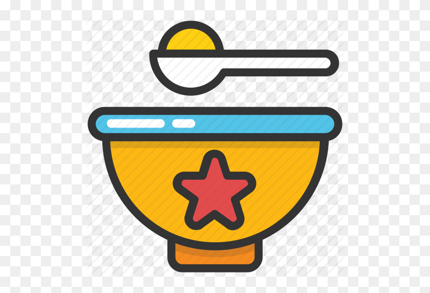 Baby Food, Baby Meal, Baby Nutrition, Mash Food, Spoon Icon - Baby Food PNG
