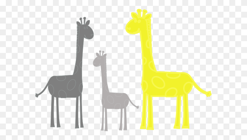 Baby Giraffe Family Clip Art - Baby Giraffe Clip Art