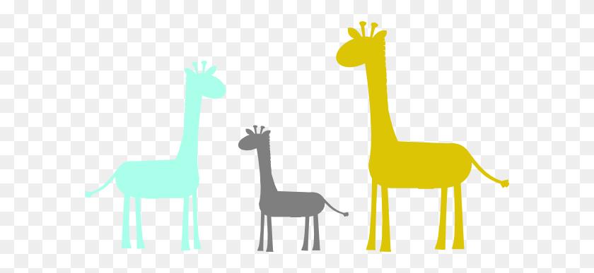 Baby Giraffe Family Clip Art - Giraffe Baby Clipart