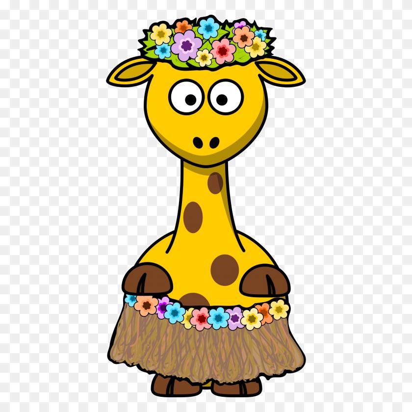 Baby Giraffes Cartoon Clip Art - Baby Giraffe Clip Art