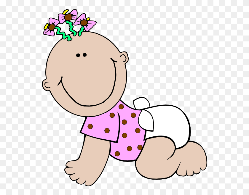 Baby Girl Monkey Clip Art - Baby Girl Clipart Free Printable