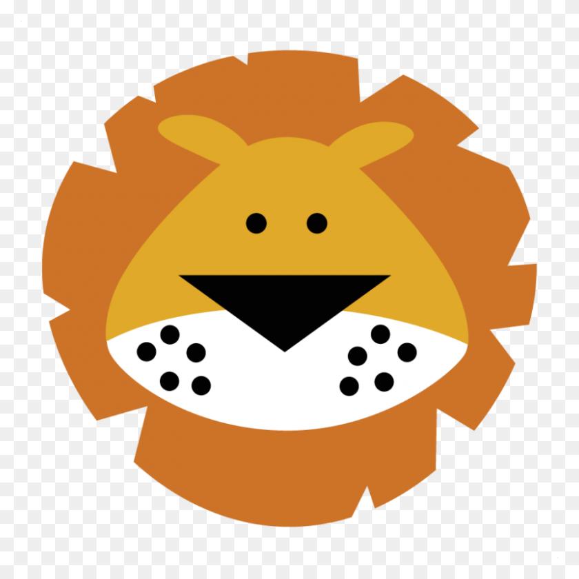 Baby Lion Head Clipart - Lion Head Clipart