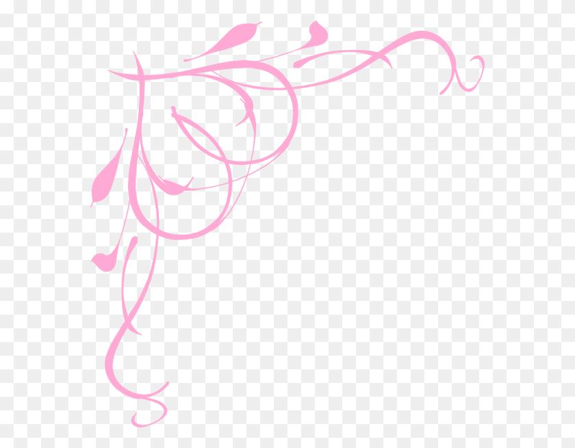 Baby Pink Hearts Border Png Clip Arts For Web - Modern Border PNG