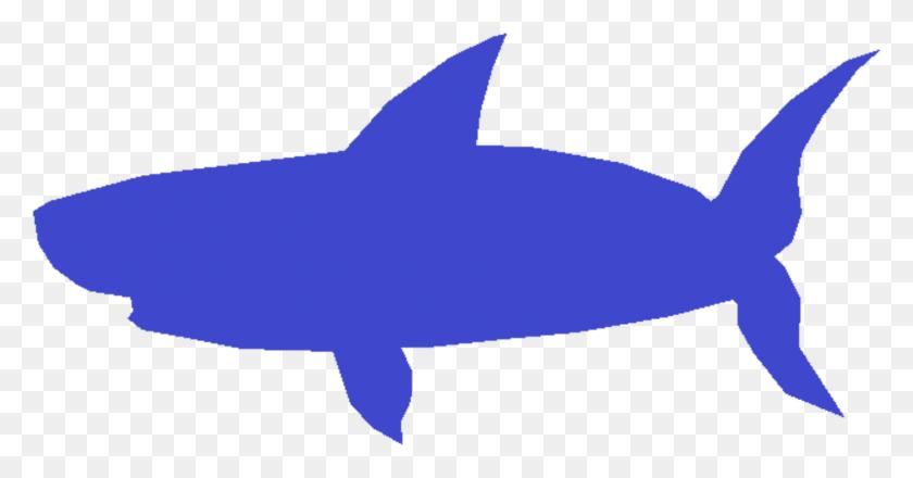 Baby Shark Blue Shark - Shark Clipart