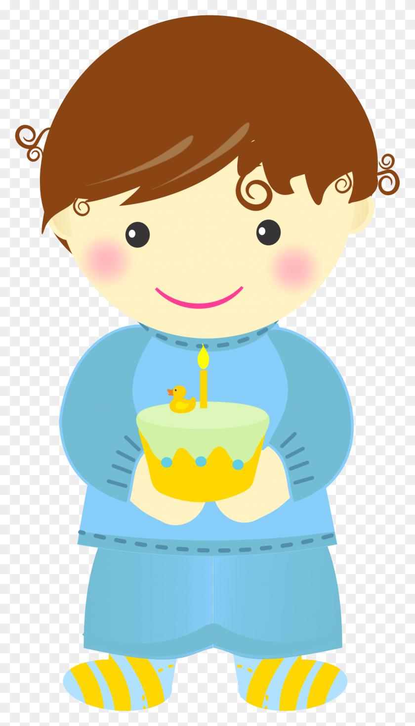 Baby's First Birthday Clip Art - Fall Birthday Clipart