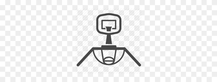 260x260 Backboard Smash Clipart - Basketball Backboard Clipart