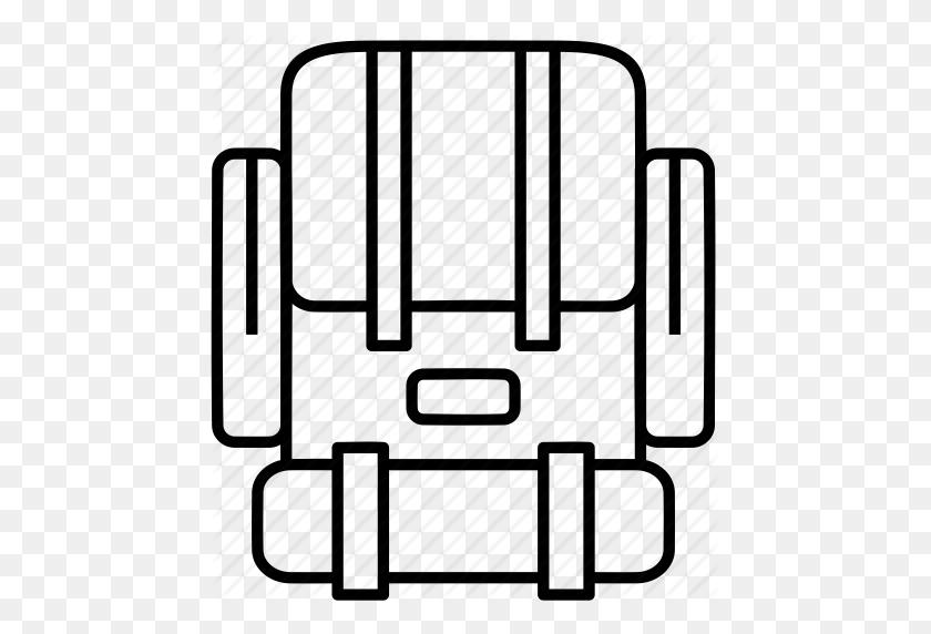 Backpack, Backpacking, Camping, Outdoor Gear, Outdoors, Sleeping - Sleeping Bag Clip Art