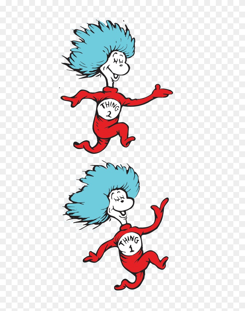 Backstage Crew Png Transparent Backstage Crew Images - Thing 1 And Thing 2 PNG
