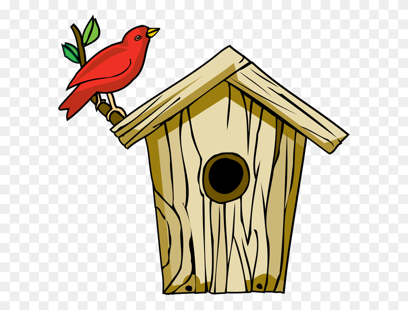 Backyard Birds Clipart - Bird Watching Clipart