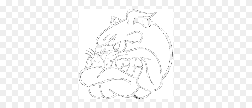 Bad Blue Boys Bulldog Logos, Free Logo - Bulldog Clipart Black And White