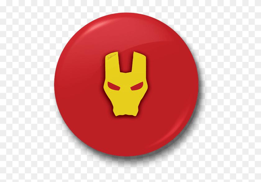 Badges - Iron Man Logo PNG
