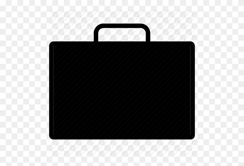 512x512 Bag, Blank, Briefcase, Case, Full, Line, Suitcase Icon - Briefcase PNG