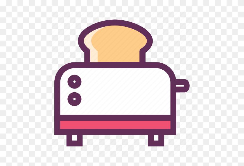 Bakery, Bread Slice, Bread Toaster, Breakfast, Home Appliances - Bread Slice PNG