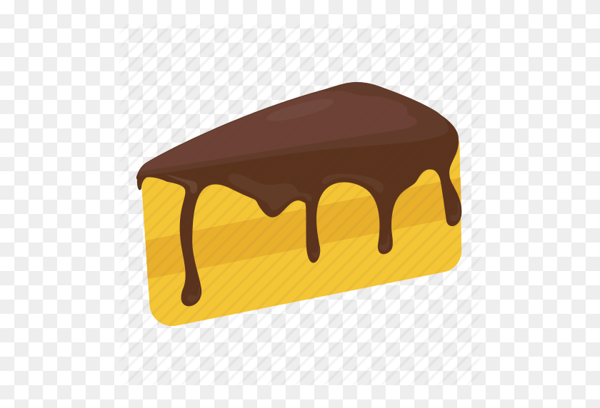 Bakery Food, Cake Piece, Cake Slice, Dessert, Sweet Food Icon - Cake Slice PNG