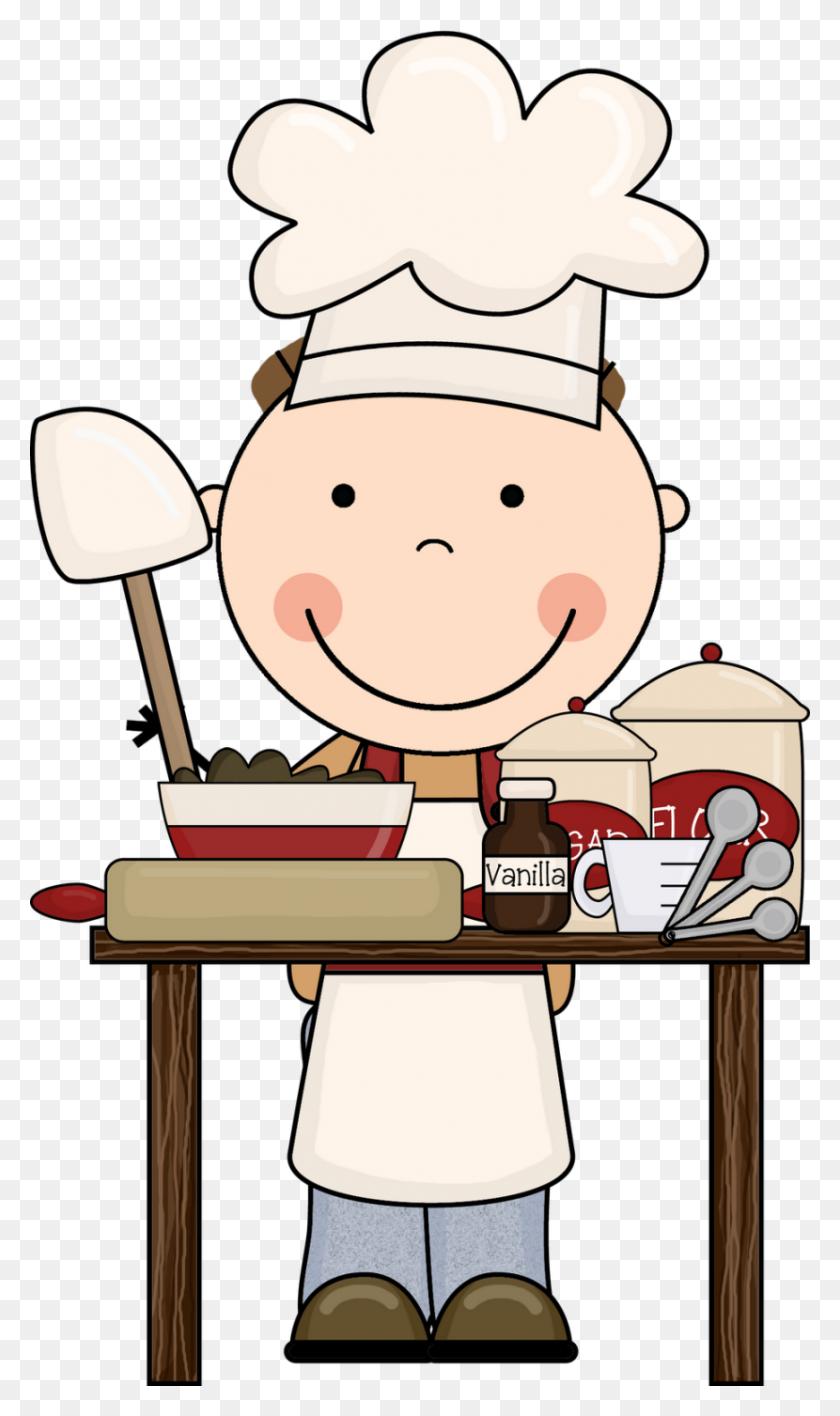 830x1443 Baking Clip Art - Art Class Clipart