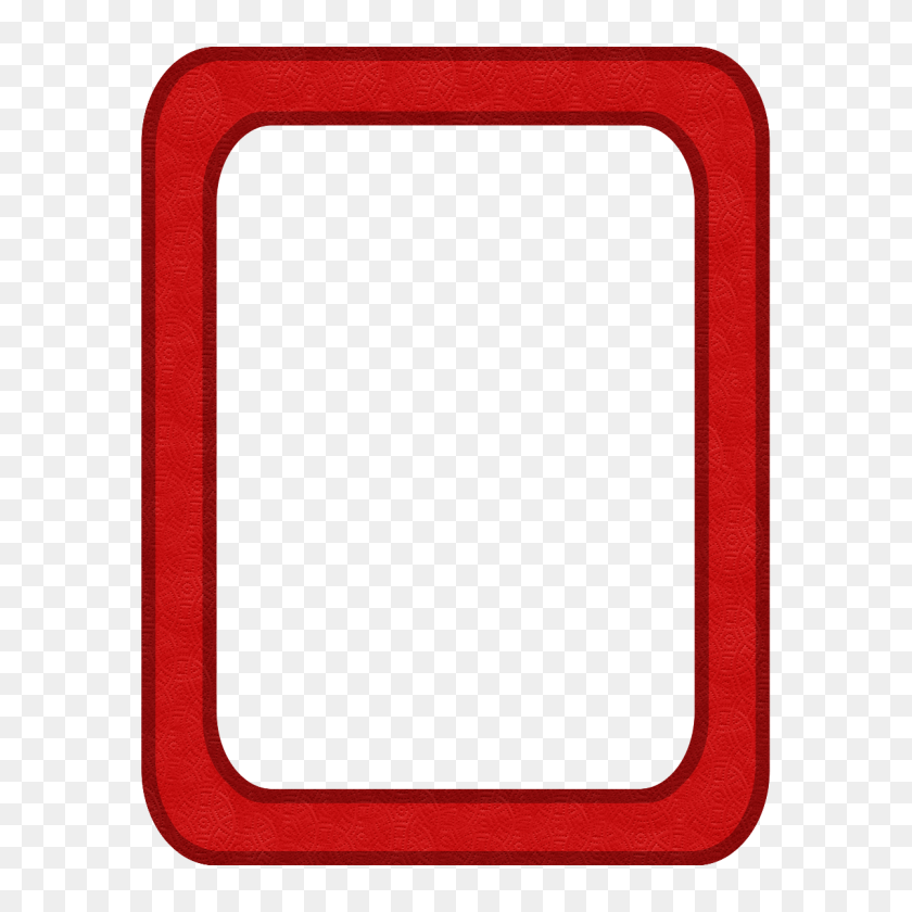 Baking Clipart Red Frame - Red Rectangle PNG