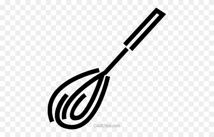 Baking Whisk Royalty Free Vector Clip Art Illustration - Whisk Clipart