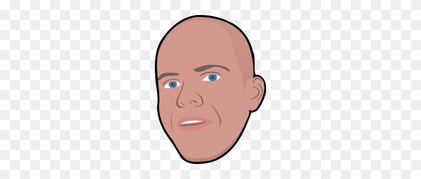 Bald Dude Head Clip Art - Bald Clipart